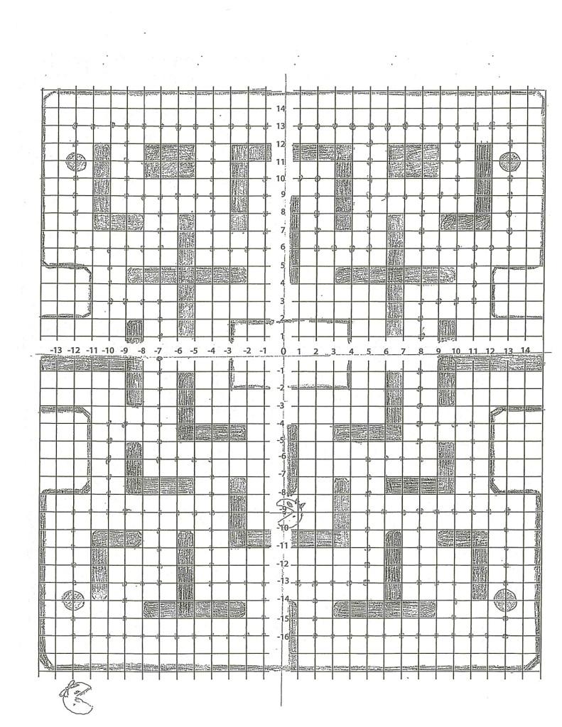 66CW Ms Pac Man Game Board